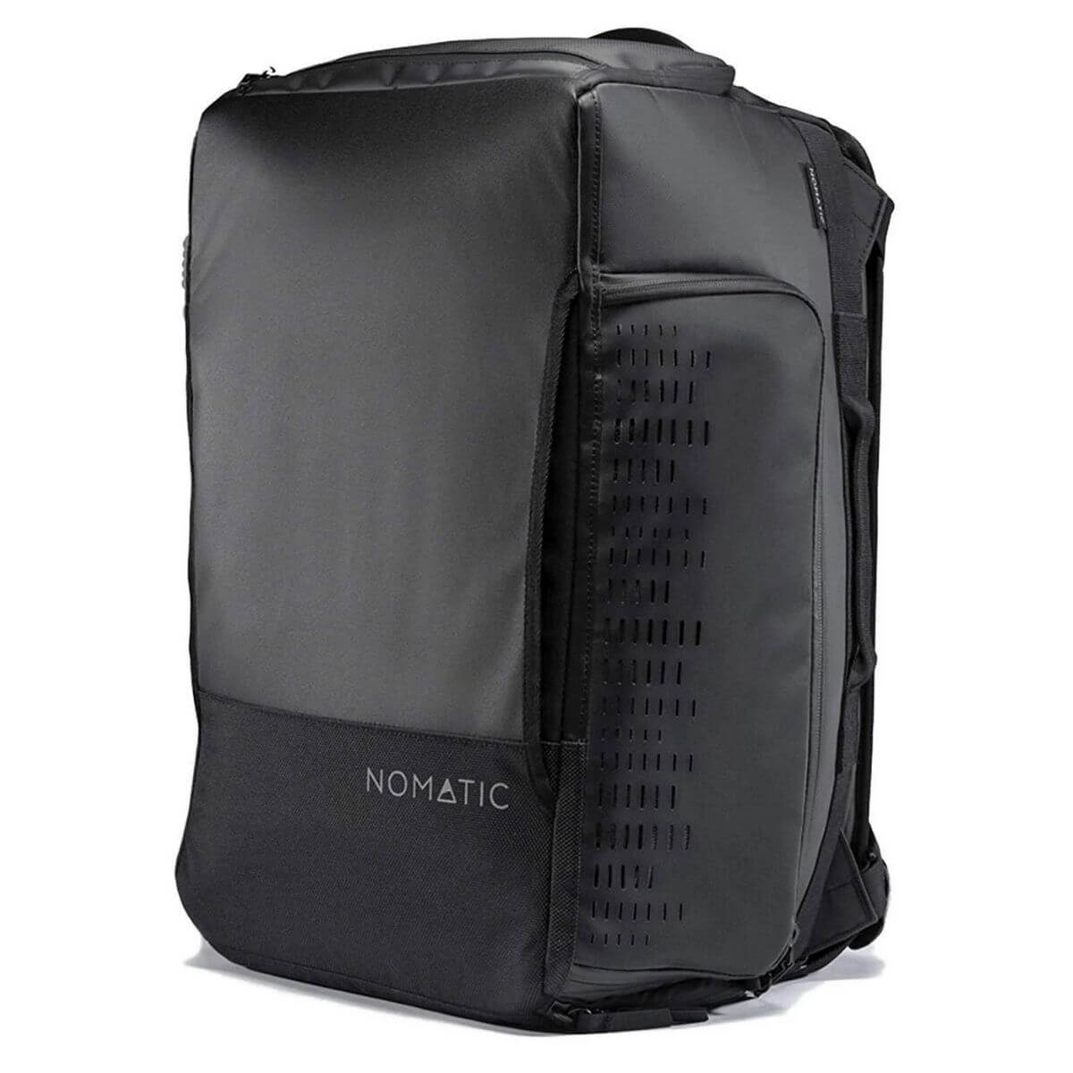 Black Nomatic travel bag.