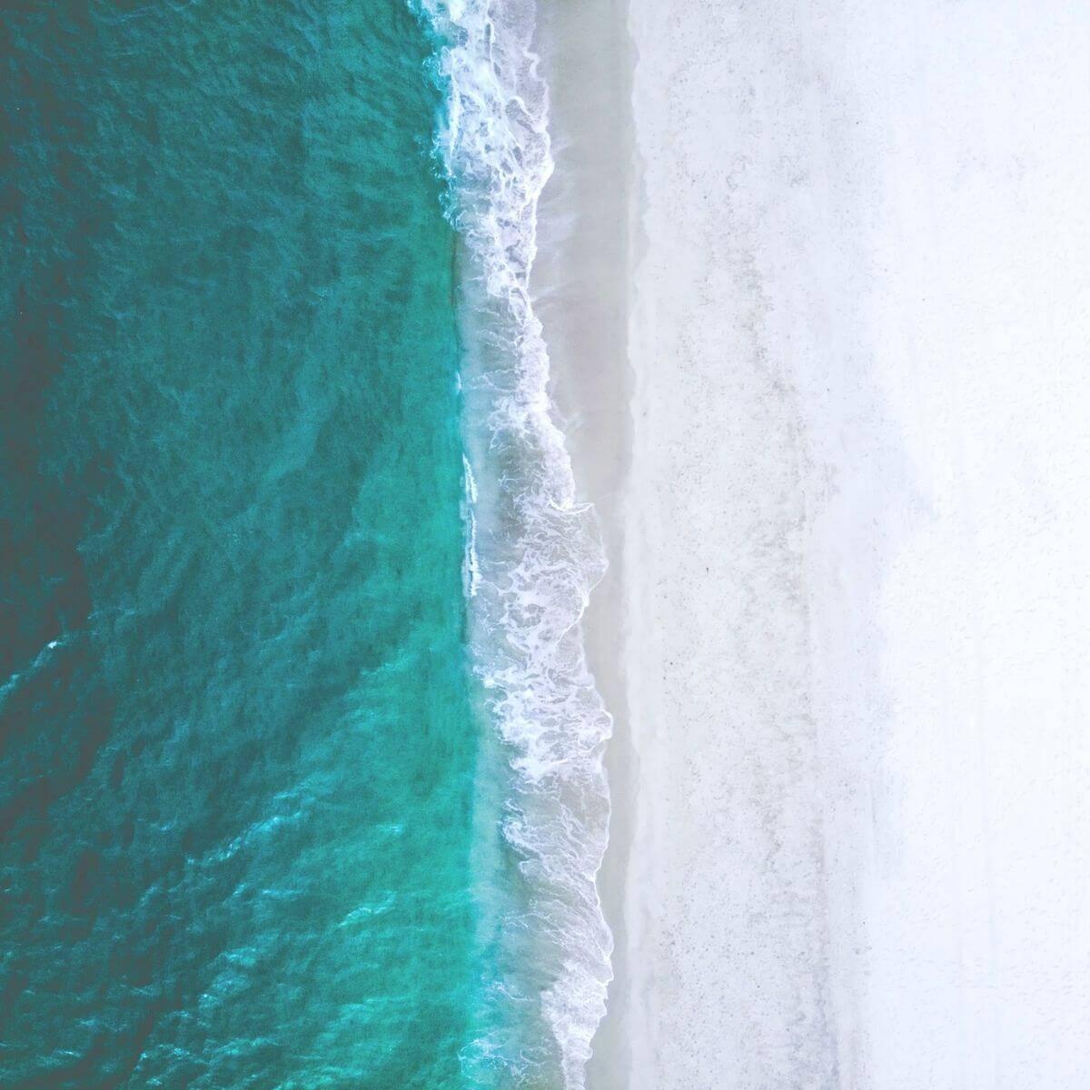 Aerial view of Orange Beach.