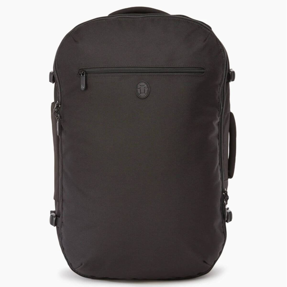 Black Tortuga polyester backpack.