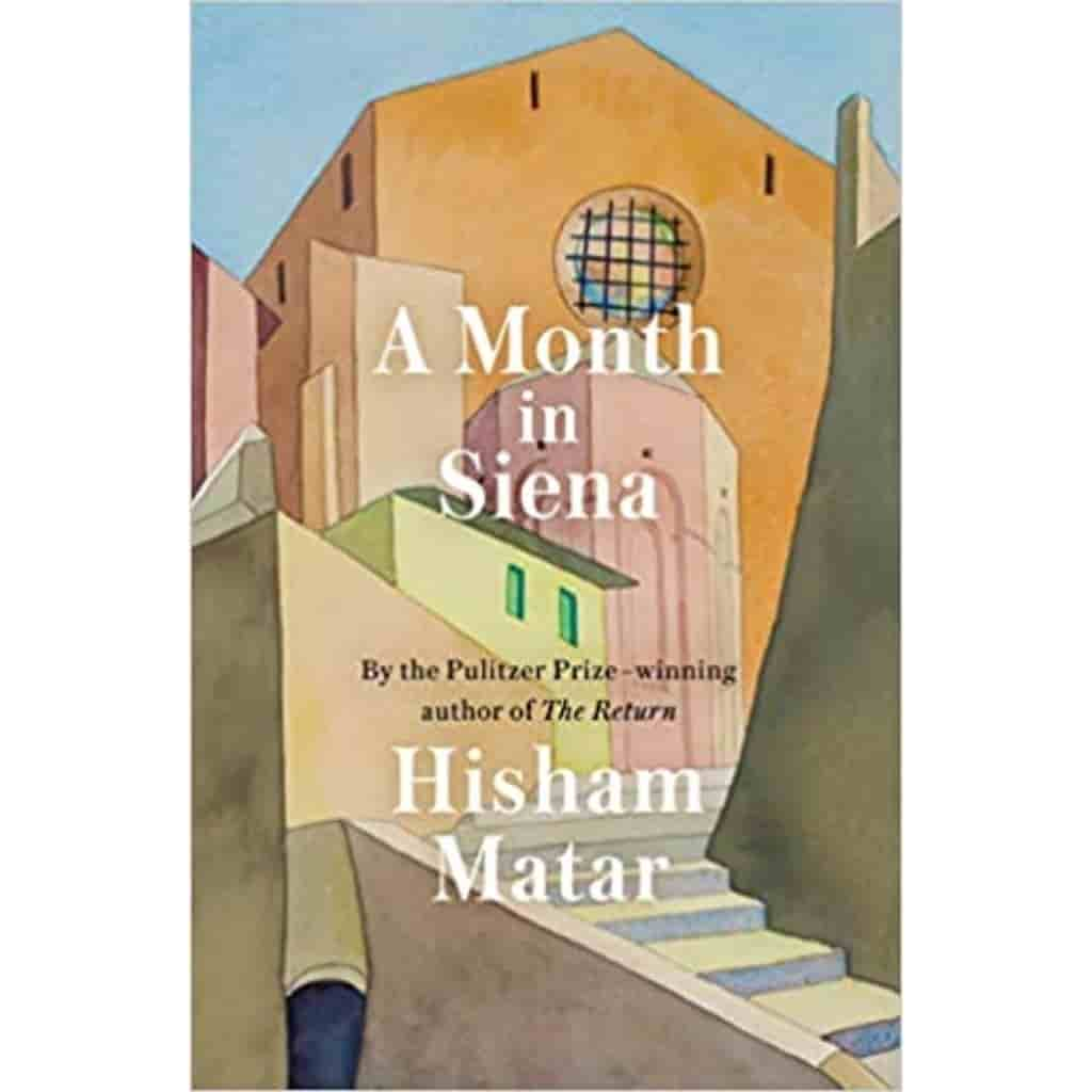 A Month in Siena book cover.