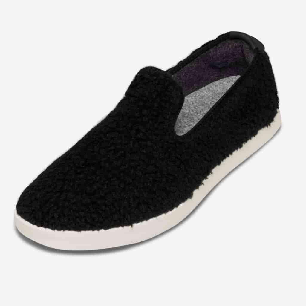Allbirds wool slip-on shoes.