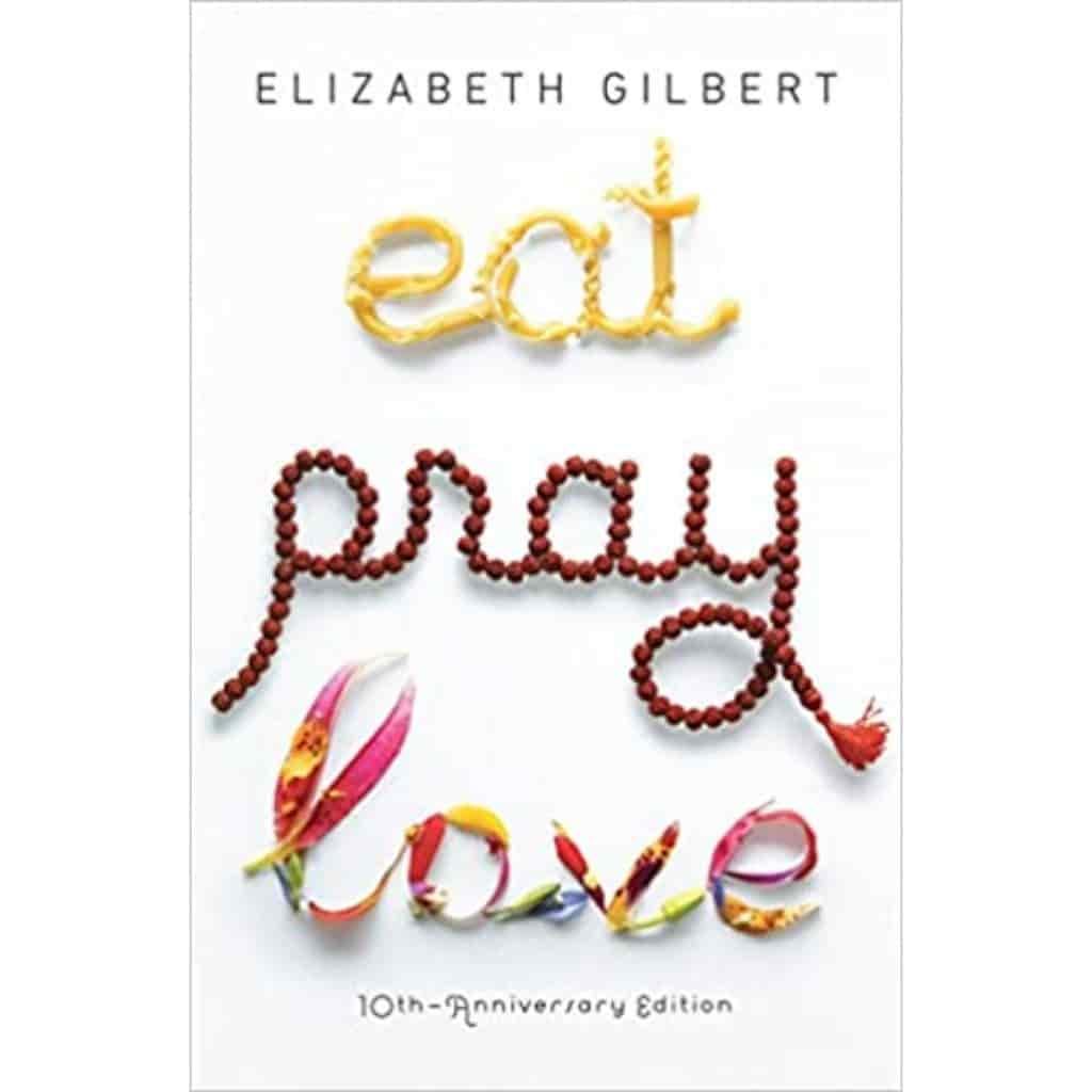Eat, Pray, Love book cover.