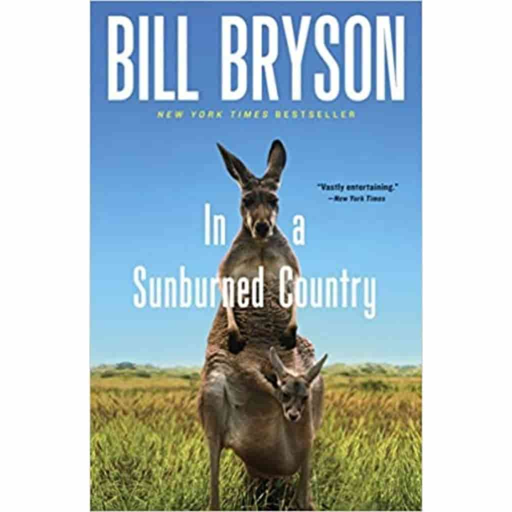 In a Sunburned Country book cover.