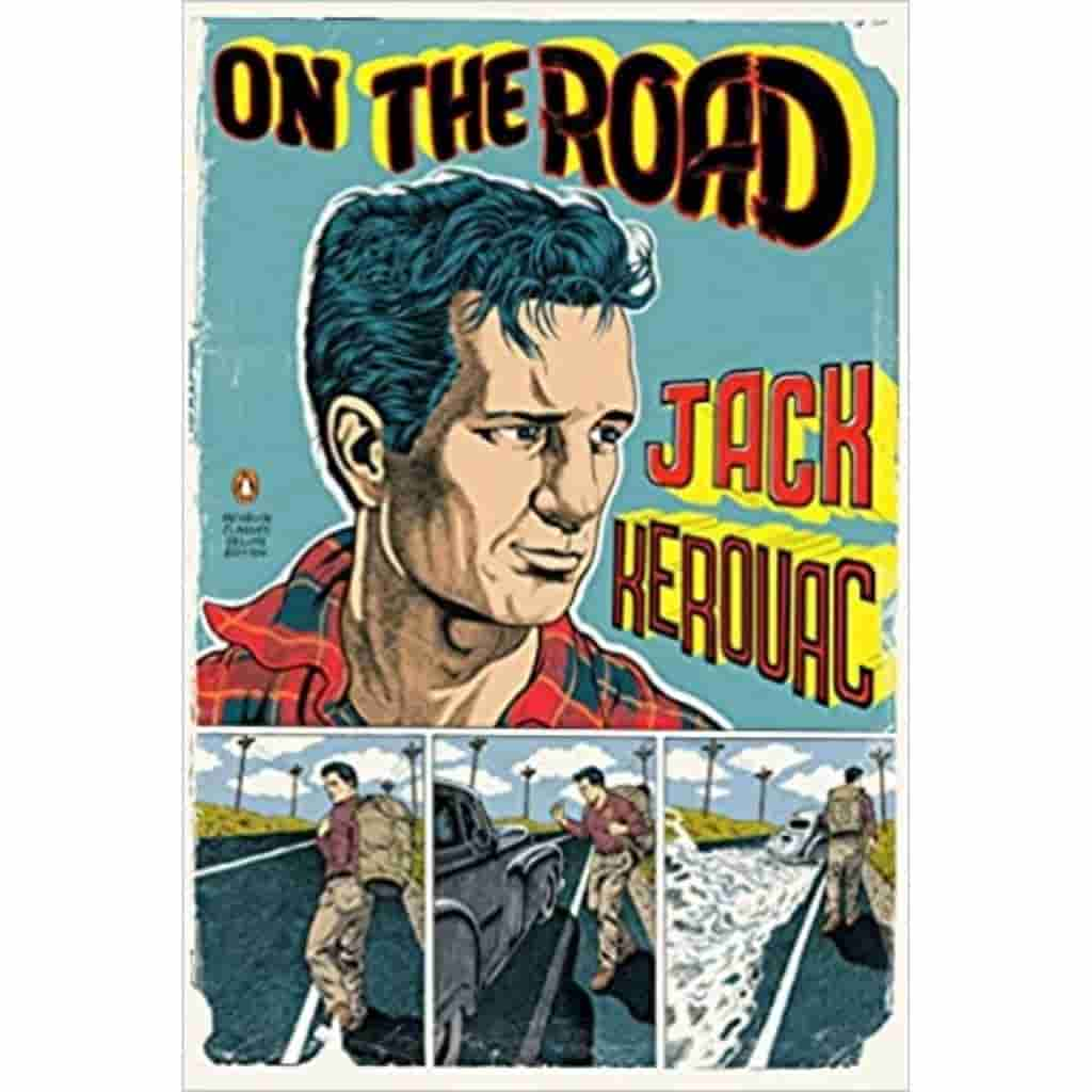 On the Road book cover.