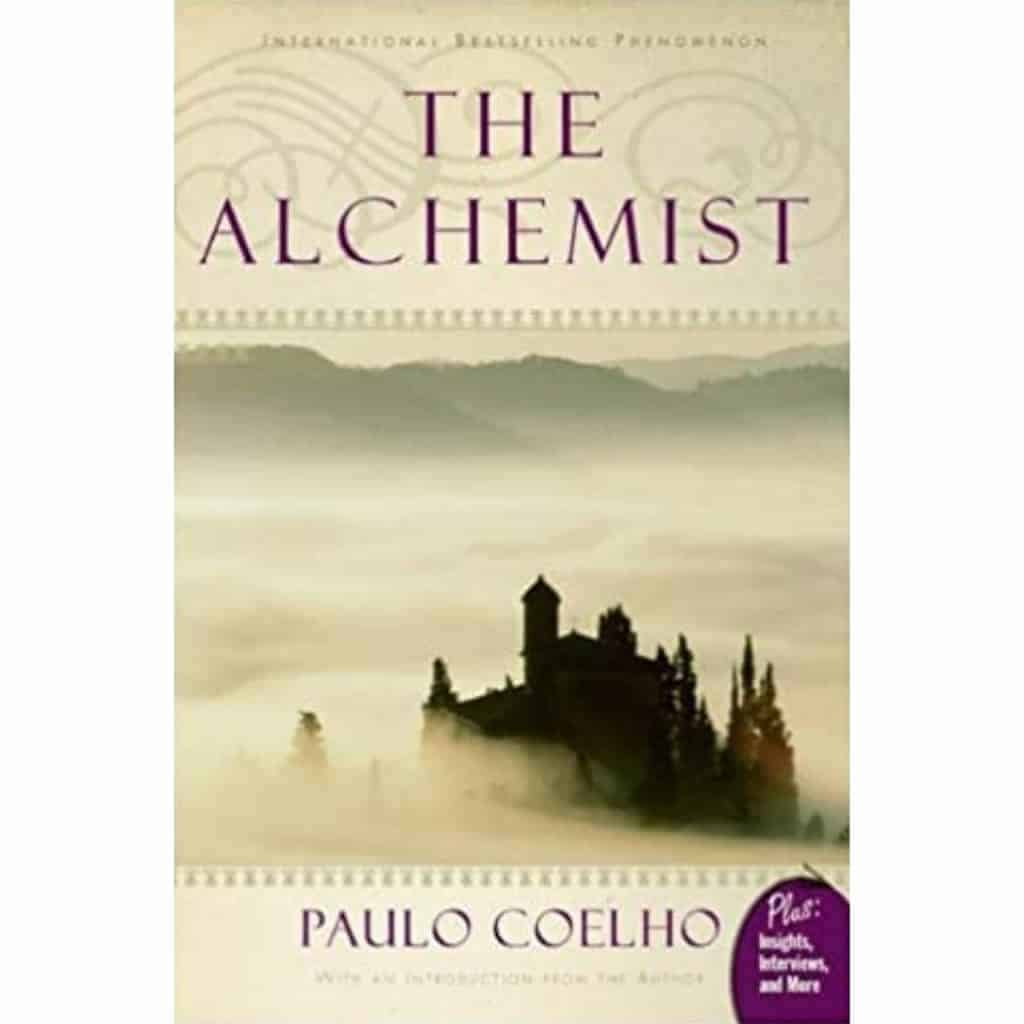 The Alchemist book cover.