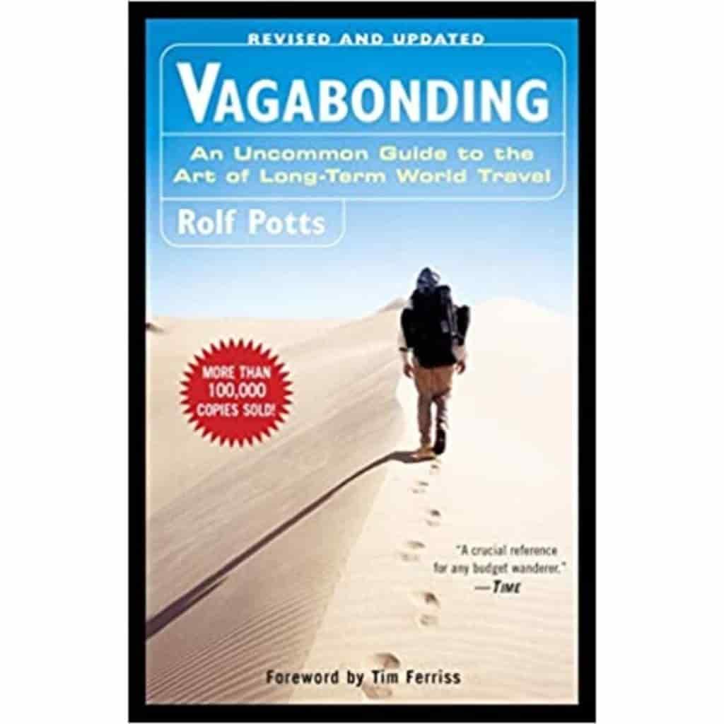 Vagabonding book cover.