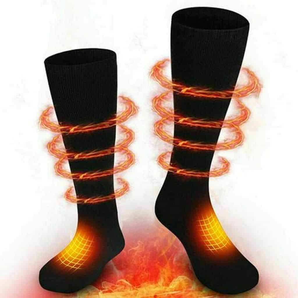 Comfomedic heated socks.