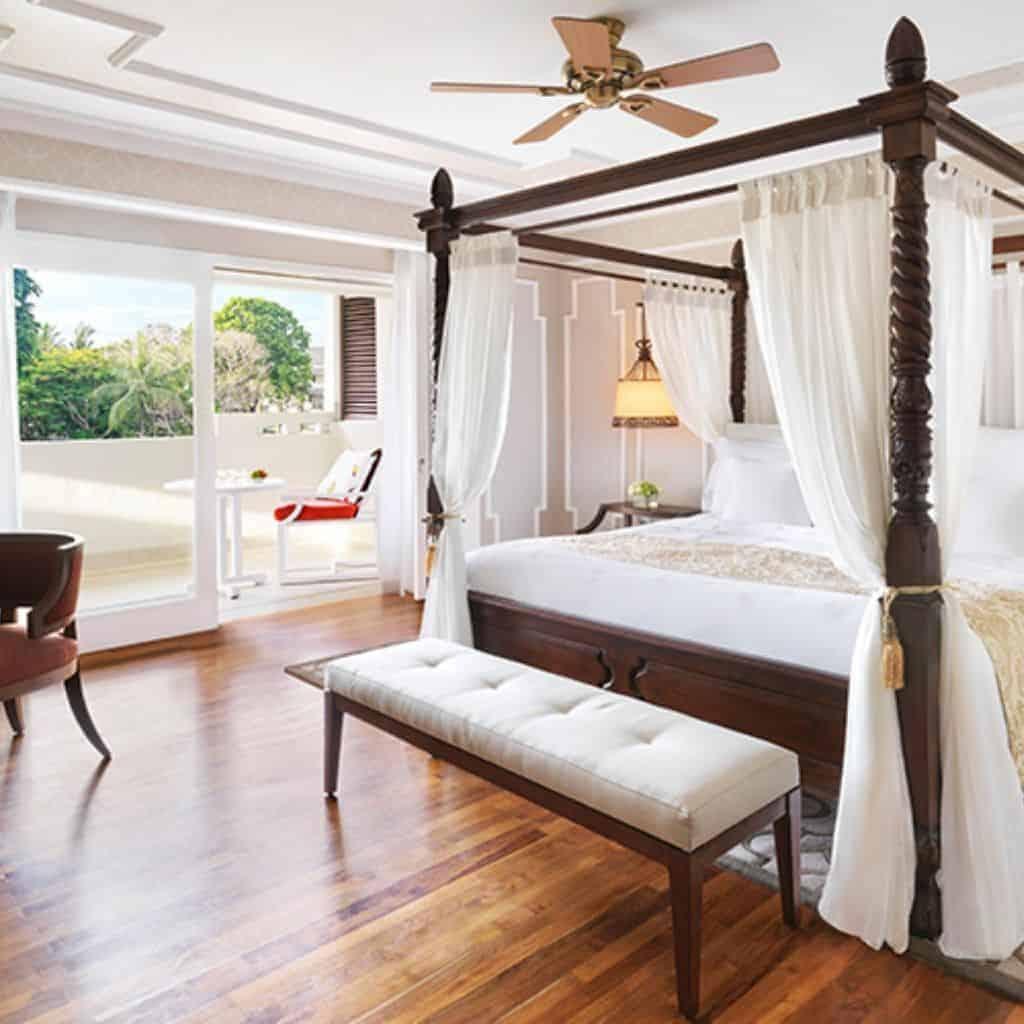 Inside a suite at InterContinental Bali Resort.