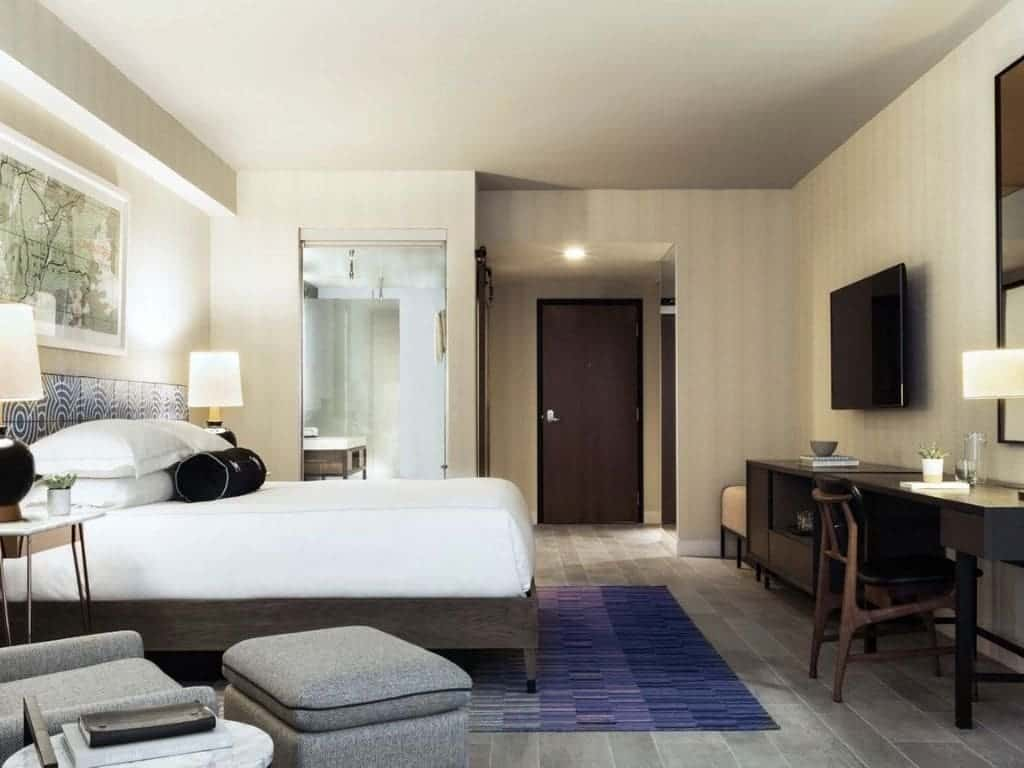 Room in The Rowan Palm Springs Hotel.